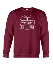 Only the Best Men are Called Collins Crewneck Sweatshirt thumbnail