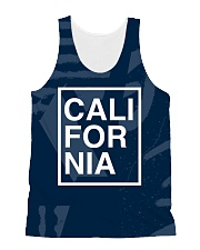 California Frame All-over Unisex Tank thumbnail