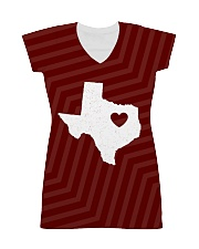 Texas Home All-over Dress front