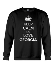 Keep Calm and Love Georgia Crewneck Sweatshirt thumbnail