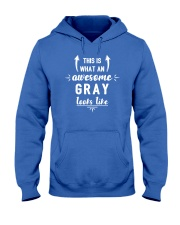 This is Gray Hooded Sweatshirt thumbnail