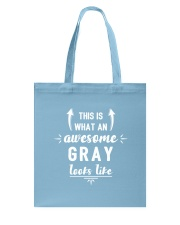 This is Gray Tote Bag thumbnail