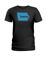 Iowa Home Ladies T-Shirt thumbnail