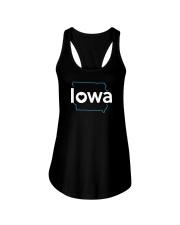 Stroke Iowa Ladies Flowy Tank thumbnail