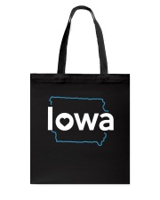Stroke Iowa Tote Bag thumbnail