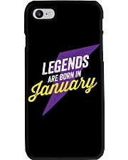 Legends Are Born In January Phone Case thumbnail