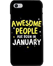 Awesome People Are Born In January Phone Case thumbnail