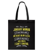 I'm a January Woman Tote Bag thumbnail