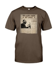 MLK Day At Last Newspaper Premium Fit Mens Tee thumbnail