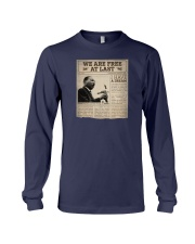 MLK Day At Last Newspaper Long Sleeve Tee thumbnail