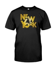 Gatsby Gold New York Classic T-Shirt front