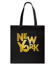 Gatsby Gold New York Tote Bag tile