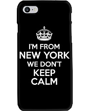 We Dont Keep Calm in New York Phone Case thumbnail