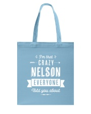 That Crazy Nelson Tote Bag thumbnail