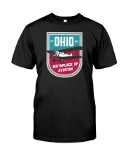 Ohio Birthplace of Aviation Classic T-Shirt front