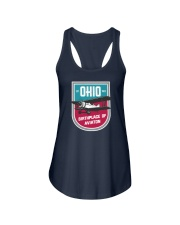 Ohio Birthplace of Aviation Ladies Flowy Tank thumbnail