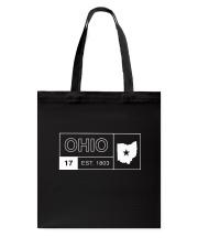 Ohio Minimal Logo Tote Bag thumbnail