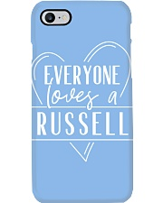 Everyone Loves Russell Phone Case thumbnail