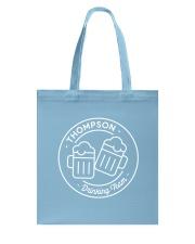Thompson Drinking Team Tote Bag thumbnail