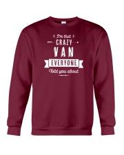 That Crazy Van Crewneck Sweatshirt thumbnail