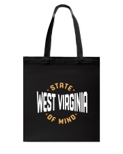 West Virginia State Of Mind Tote Bag thumbnail