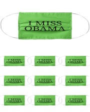 Barron Trump I Miss Obama Cloth Face Mask - 10 Pack front