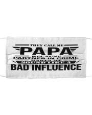 Bad Influence Cloth face mask thumbnail