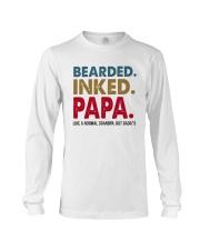 Beared Inked Papa Long Sleeve Tee thumbnail