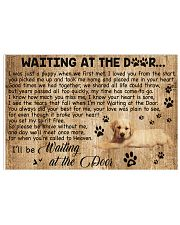 Waiting At The Door - Dog 17x11 Poster front
