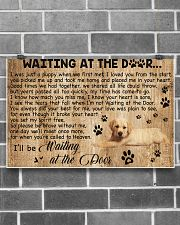 Waiting At The Door - Dog 17x11 Poster poster-landscape-17x11-lifestyle-18