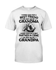 Grandma is my best friend Premium Fit Mens Tee thumbnail