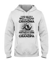Grandma is my best friend Hooded Sweatshirt thumbnail