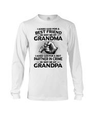 Grandma is my best friend Long Sleeve Tee thumbnail