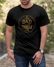 One Dad To Rule Them All Classic T-Shirt apparel-classic-tshirt-lifestyle-front-53