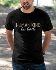 Human Kind Be Both - Be Human Be Kind Classic T-Shirt apparel-classic-tshirt-lifestyle-front-50