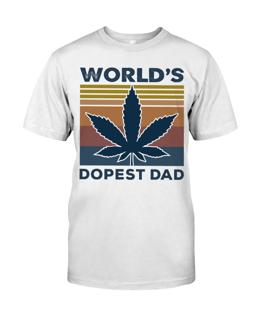 World's Dopest Dad Classic T-Shirt