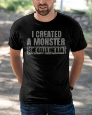 New Edition - I Created A Monster Classic T-Shirt apparel-classic-tshirt-lifestyle-front-50