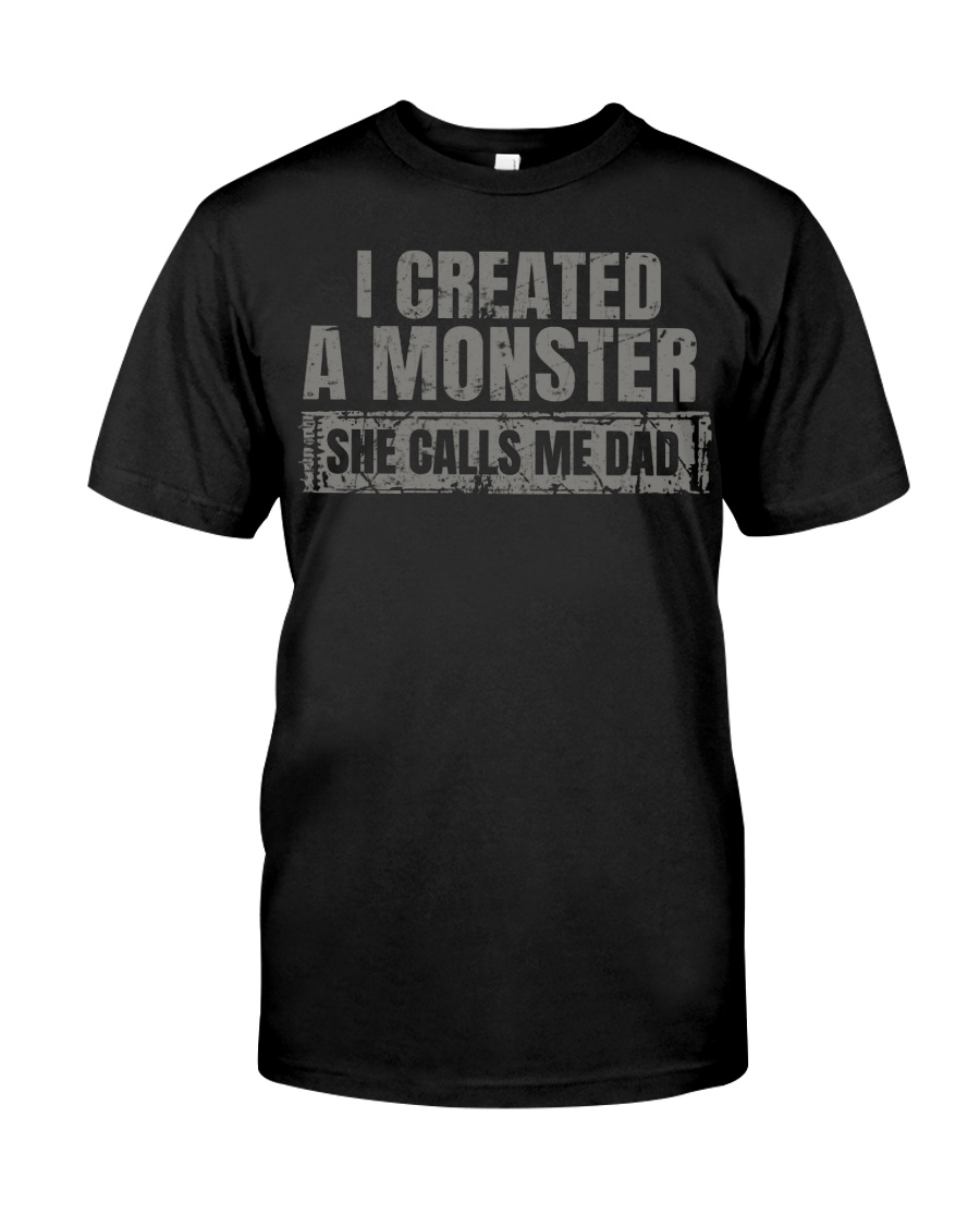 New Edition - I Created A Monster Classic T-Shirt