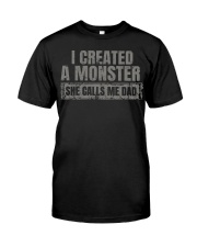 New Edition - I Created A Monster Classic T-Shirt front