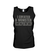 New Edition - I Created A Monster Unisex Tank thumbnail