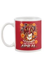 LEGENDS ARE BORN IN APRIL Mug back