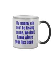 MY MOMMY SAID Color Changing Mug thumbnail