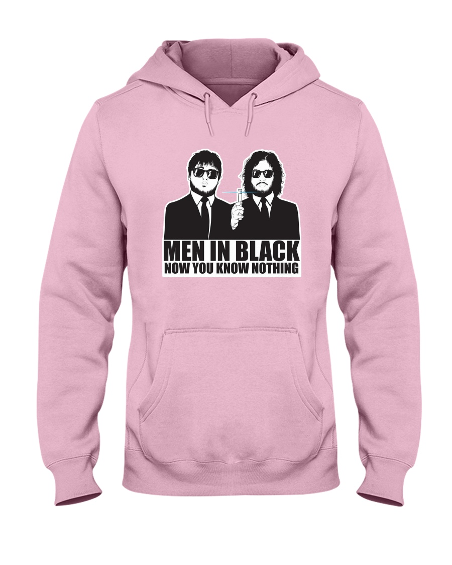 AWESOME SHIRT FOR MIB FANS Hooded Sweatshirt