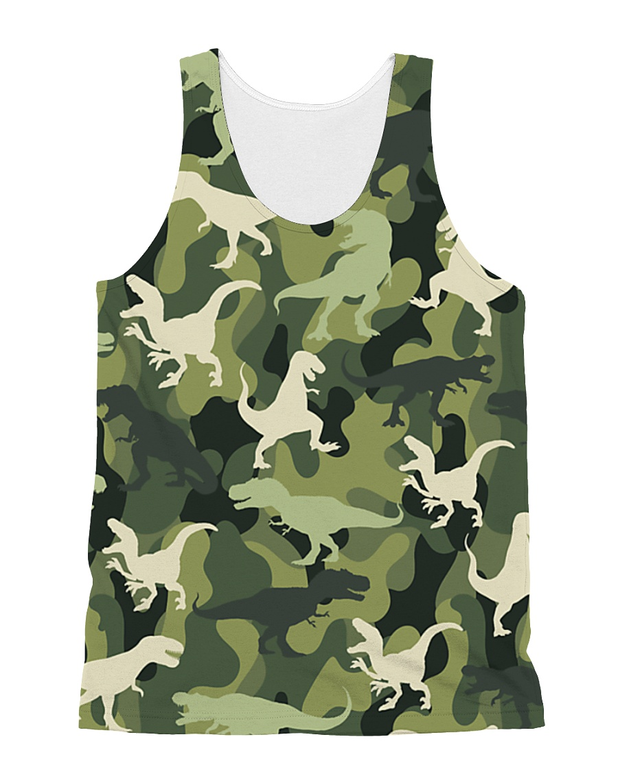 Army Dinosaur  All-over Unisex Tank