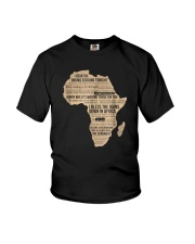 Africa T Shirt Bless Africa Rains On Toto Youth T-Shirt thumbnail