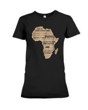 Africa T Shirt Bless Africa Rains On Toto Premium Fit Ladies Tee thumbnail