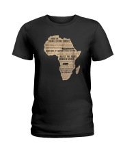Africa T Shirt Bless Africa Rains On Toto Ladies T-Shirt thumbnail