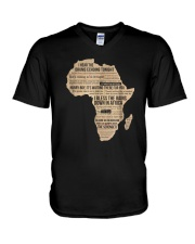 Africa T Shirt Bless Africa Rains On Toto V-Neck T-Shirt thumbnail