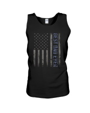 Mens Mens Best Dad Ever American Flag Police Unisex Tank thumbnail