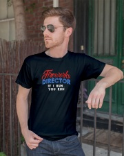 Fireworks Director Shirt Funny 4th Of July Fourth  Classic T-Shirt lifestyle-mens-crewneck-front-2